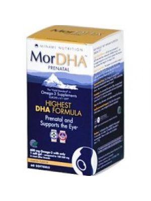 Minami Nutrition MorDHA Prenatal Lemon Flavor 60 Gels