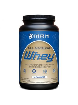 MRM 100% All Natural Whey 2.02 Lbs