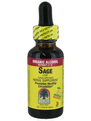 Nature's Answer Sage Leaf 1 Fl Oz