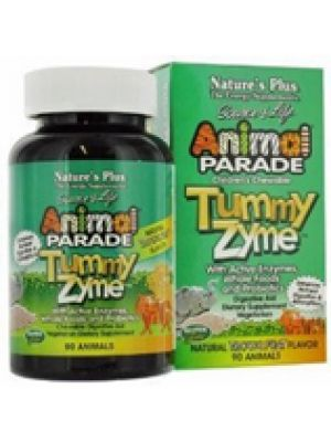Nature's Plus Animal Parade Tummy Zyme Tropical 90 Chews