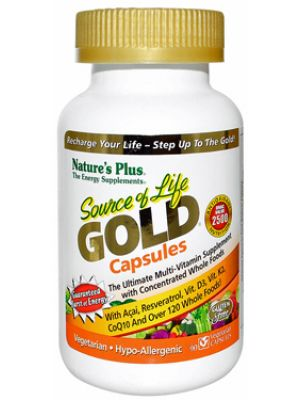 Nature's Plus Source of Life Gold 90 Vege Caps