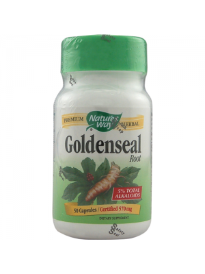Nature's Way Goldenseal Root 570mg 50 Caps