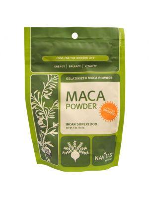 Navitas Naturals Raw Maca Powder (Certified Organic) 4 Oz