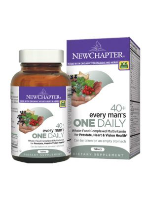 New Chapter Every Man's One Daily 40+ 72 Tabs