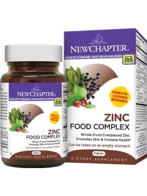New Chapter Zinc Food Complex 60 Tabs