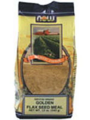 Now Foods Organic Golden Flax Seed Meal 12oz