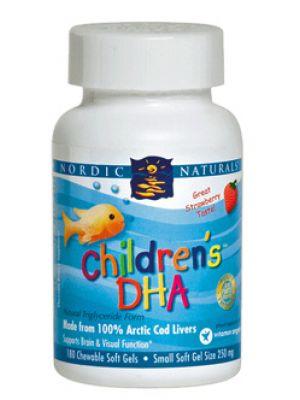 Nordic Naturals Children's DHA 180 SoftGels