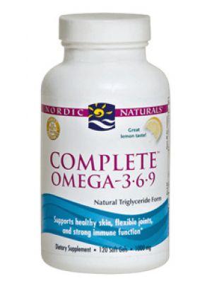 Nordic Naturals Complete Omega 3-6-9 120 SoftGels