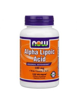 Now Foods Alpha Lipoic Acid 100 Mg 120 Vegetable Capsules