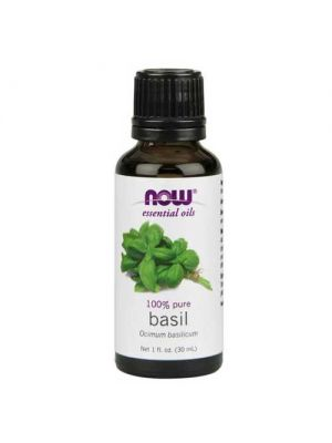 Now Foods Basil Oil 1 Oz
