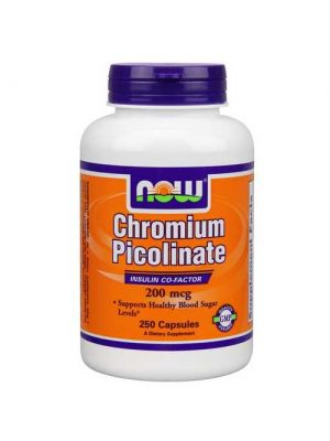 Now Foods Chrom Pic 200 Mcg 250 Capsules