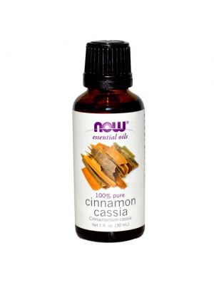 Now Foods Cinnamon Cassia Oil 1 Oz