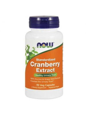 Now Foods Standardized Cranberry Ext 6% with Uva Ursi 90 Vegetable Capsules