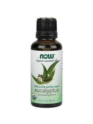 Now Foods Organic Eucalyptus Oil 1 Oz