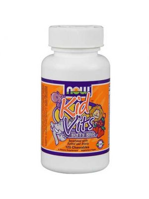 Now Foods Kid Vits - Berry Blast 120 Tablets