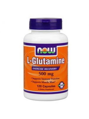 Now Foods Glutamine 500 Mg 120 Capsules
