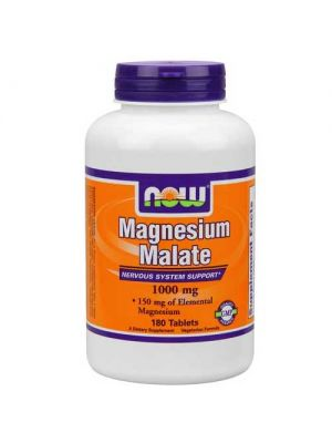 Now Foods Magnesium Malate 1000 Mg 180 Tablets