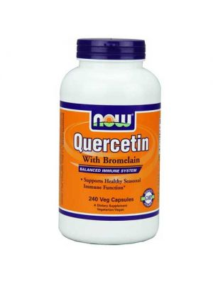 Now Foods Quercetin W/Bromelain 240 Vegetable Capsules