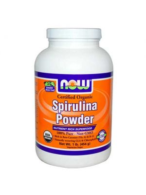 Now Foods Spirulina Powder Organic 1 Lb