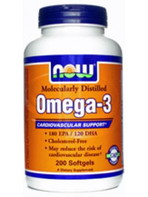 Now Foods Omega-3 1000mg 200 Gels
