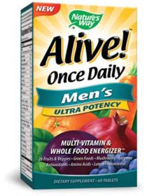 Nature's Way Alive! Once Daily Men's 60 Tabs