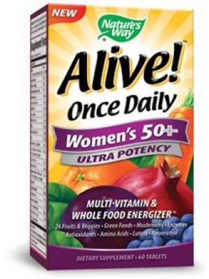 Nature's Way Alive! Once Daily Women's 50+ 60 Tabs