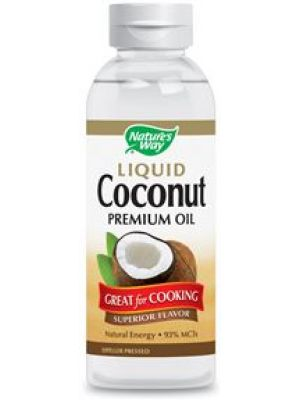 Nature's Way Liquid Coconut Oil 10 Oz