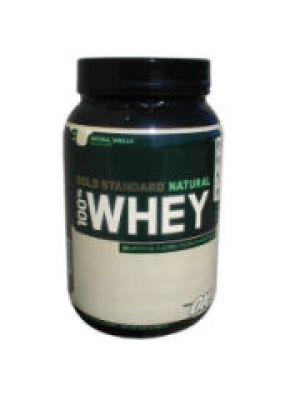 Optimum Nutrition 100% Natural Whey 2 Lbs