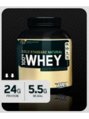 Optimum Nutrition 100% Natural Whey 4.8lbs