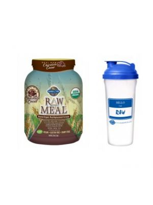 Buy Garden of Life Raw Meal, Get a Free Blender Bottle
