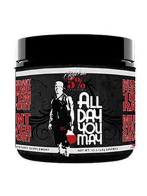 Rich Piana 5% Nutrition All Day You May 30 Servings