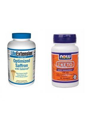 Dr. Oz 7-Keto DHEA & Saffron Extract Stack