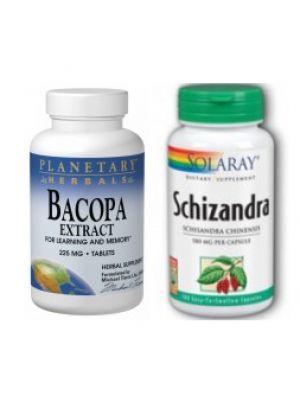 Bacopa Extract & Schizandra Berries