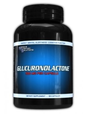 Serious Nutrition Solutions Glucuronolactone 120 Caps