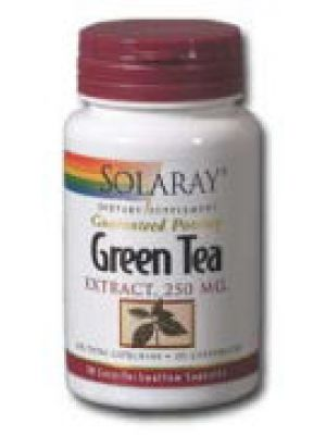 Solaray Green Tea Extract 250mg 30 Caps