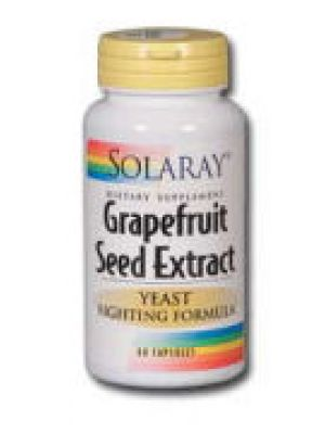 Solaray Grapefuit Seed Extract Yeast Fighting Formula 250mg 60 Caps