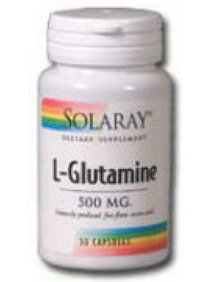 Solaray L-Glutamine 500mg 100 Caps