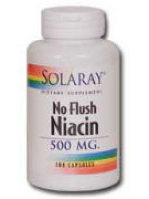Solaray No Flush Niacin 500mg 100 Caps