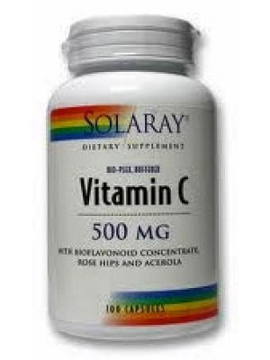 Solaray Bio-Plex Buffered Vitamin C 500mg 100 Caps