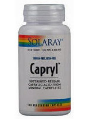 Solaray Capryl Sodium Resin Free 100 Caps