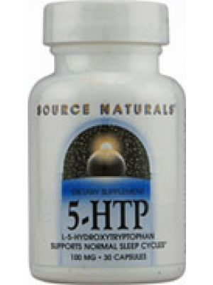 Source Naturals 5-HTP 50mg 30 Caps
