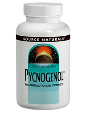 Source Naturals Pycnogenol (Pine Bark Extract) 25mg 60 Tabs