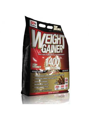 Top Secret Nutrition Weight Gainer 1400 Dutch Chocolate 10 Lbs