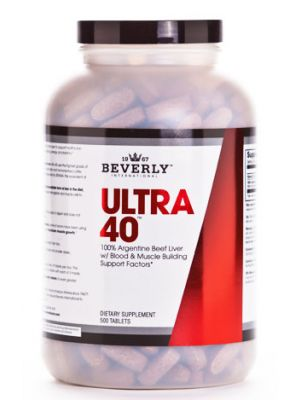 Beverly International Ultra 40 Liver 500 tabs