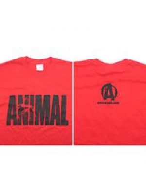 Universal Animal Iconic Tee Red Large