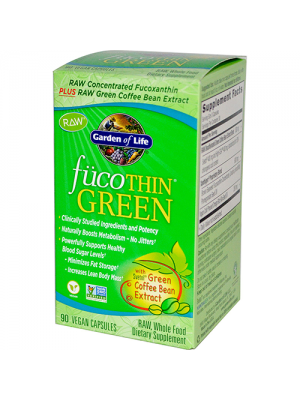 FucoTHIN Green Non-GMO 90 Vegan Caps