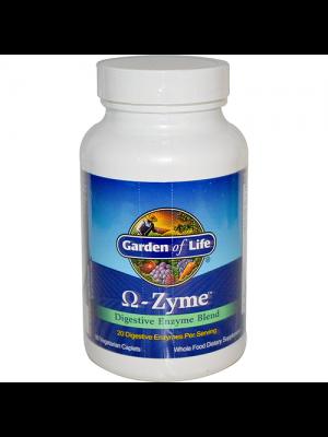Garden of Life Omega-Zyme 90 Caplets