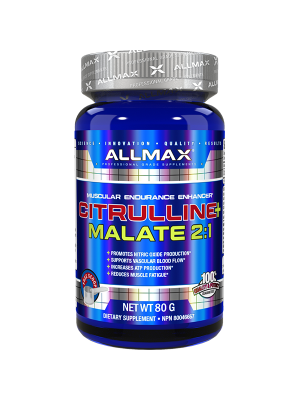 Allmax Nutrition Citrulline Malate Muscular Endurance Enhancer