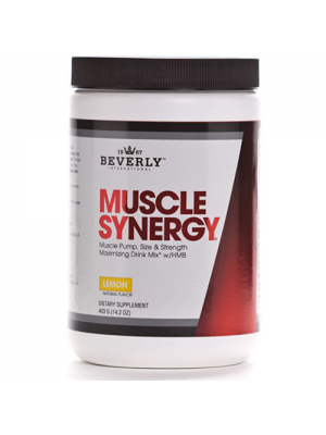 Beverly International Muscle Synergy Powder Lemon 403 Grams