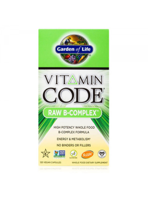 Garden of Life Vitamin Code Raw B-Complex 120 Vege Caps